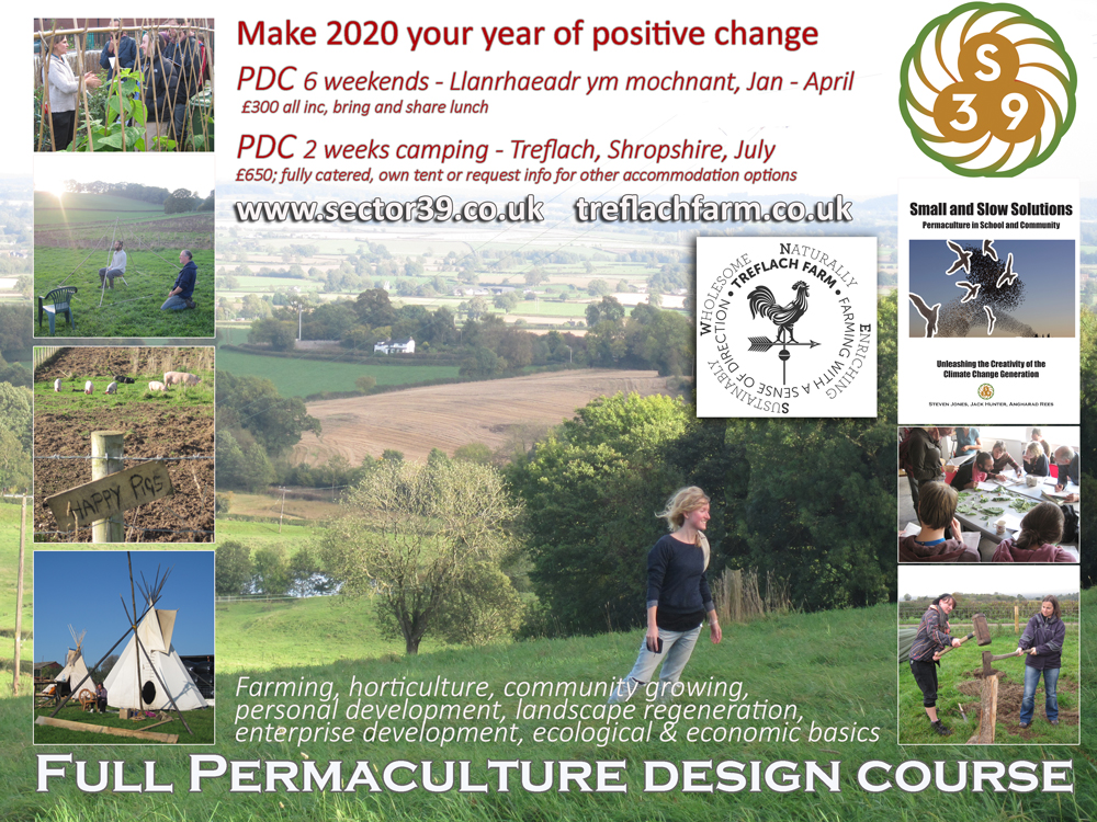 permaculture design course advert