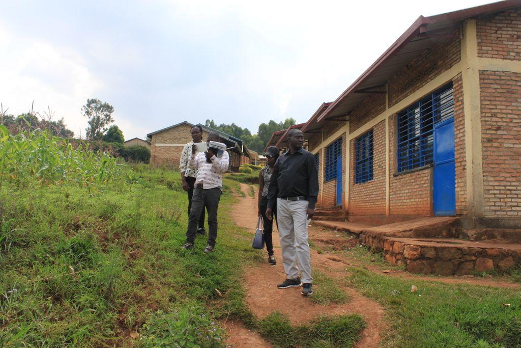 Secondary school, Save, Butare, Rwanda