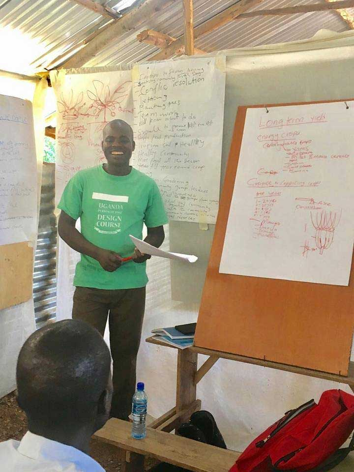 Paul Ogola launched PermoAfrica centre after a PDC with Sector39 and support and encouragement from his community