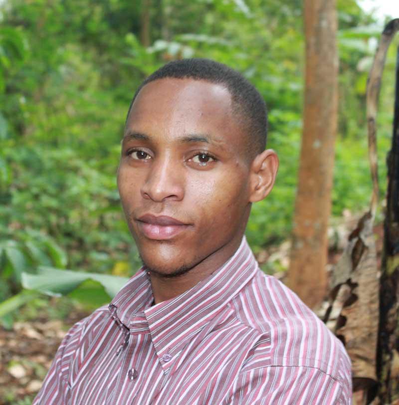 permaculture trainer Kazoa Enock