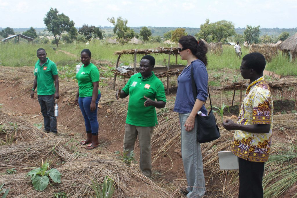 S39 permaculture team in field