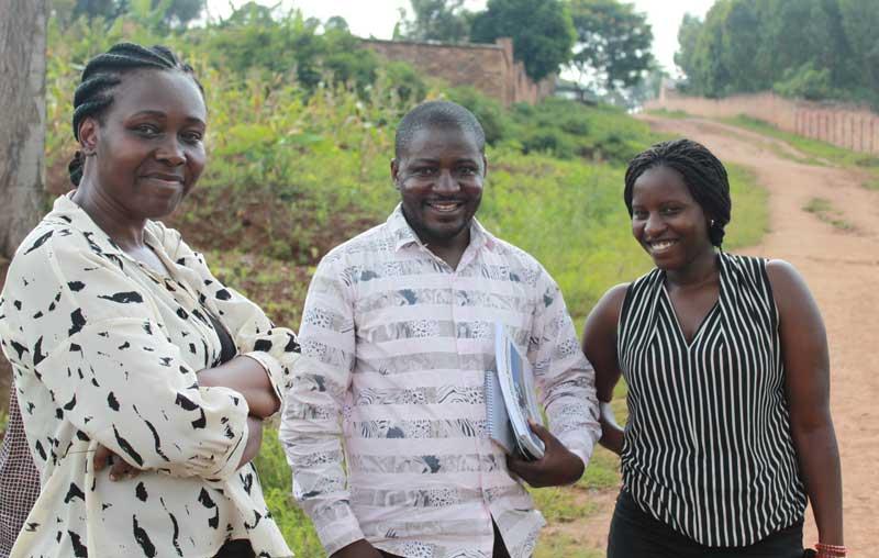 Uganda, Congo, Rwanda, colleagues
