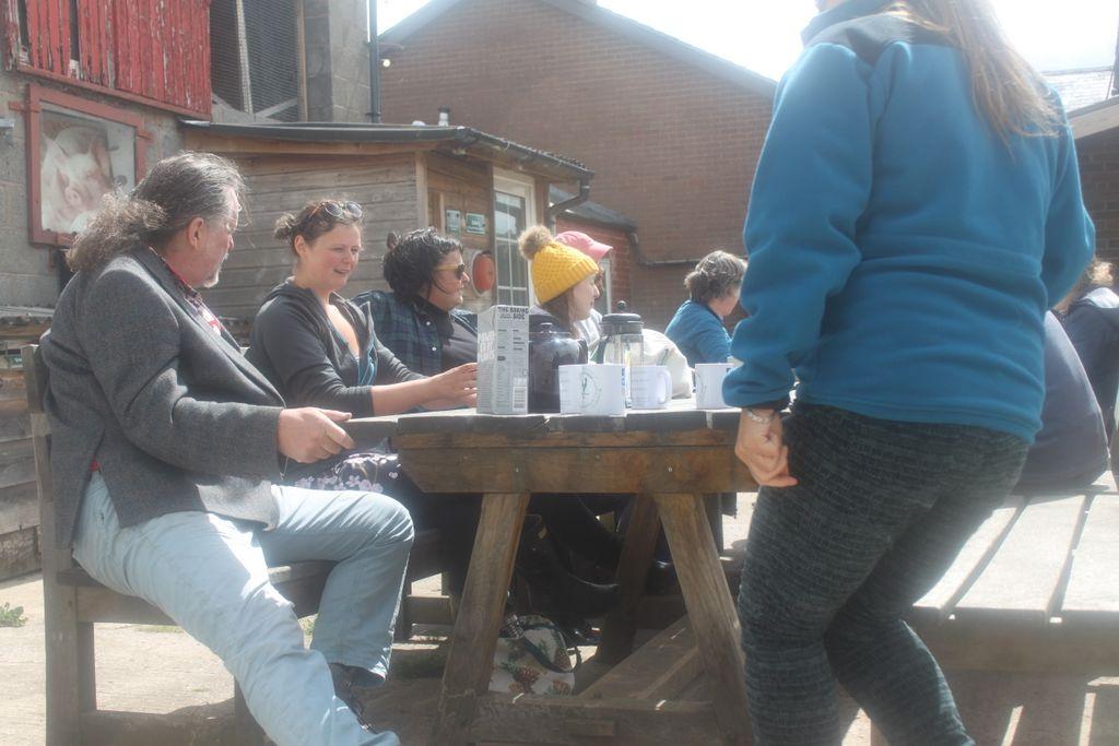 Al fresco lunch Treflach