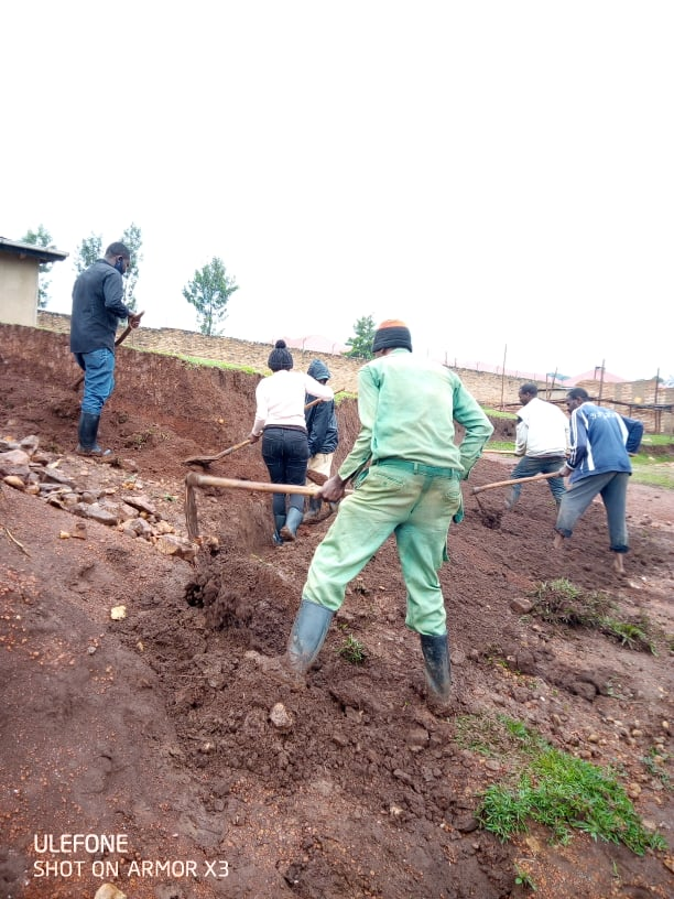 In daily life we need water,but when it is too much it damages a lot,so it's best to do activities that help us maintain or take care of it #Erosion control measures#