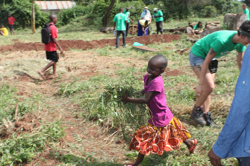 busoga garden, designing and planting