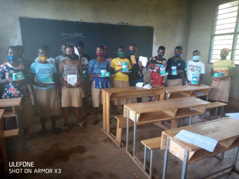 S39/ RWP permaculture at Save school Rwanda