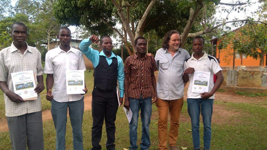 permoAfrica team at Ssanje Uganda