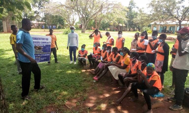 permaculture class Busia